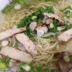 Wantan noodle